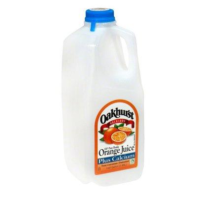 Oakhurst Orange Juice, Plus Calcium