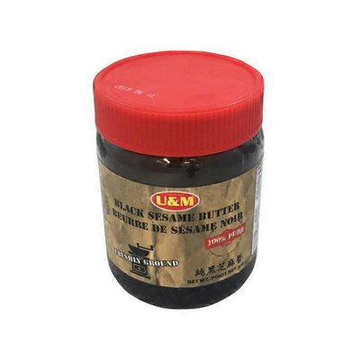 U & M Black Sesame Butter