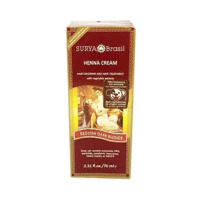 Surya Brasil Reddish Dark Blonde Hair Coloring & Treatment Henna Cream