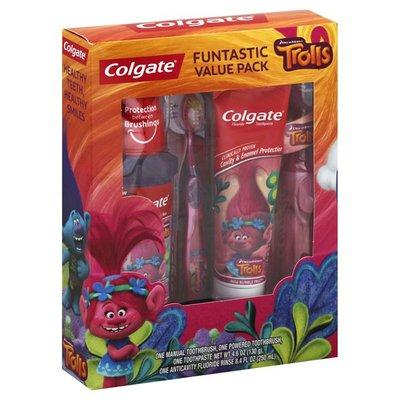 Colgate Funtastic Value Pack, DreamWorks Trolls