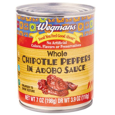 Wegmans Whole Chipotle Peppers in Adobo Sauce