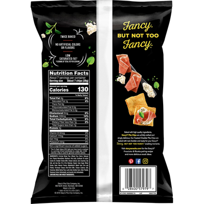 Stacy'S Stacys Pita Chips Toasted Cheddar