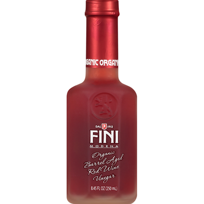 Fini Vinegar, Organic, Red Wine, Barrel Aged