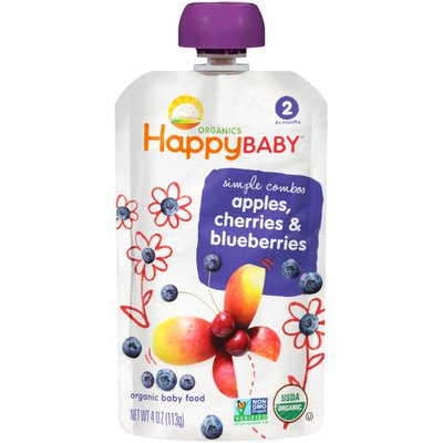 Happy Baby Simple Combos Organic Baby Food