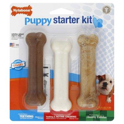 Nylabone Puppy Starter Kit, Regular Size