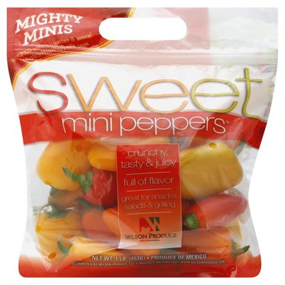 Mighty Minis Mini Peppers, Sweet