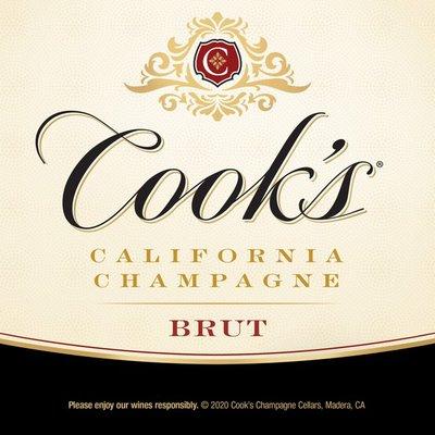 Cook's California Champagne California Champagne Brut White Sparkling Wine