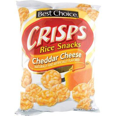 Best Choice Cheddar Rice Crisps