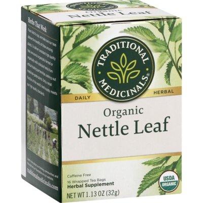Traditional Medicinals Organic Nettle Leaf, Caffeine Free Herbal Tea