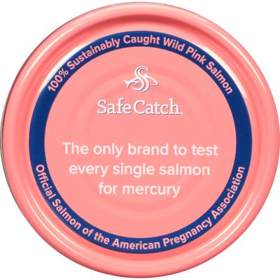 Safe Catch Pink Salmon, Wild Pacific, Skinless & Boneless