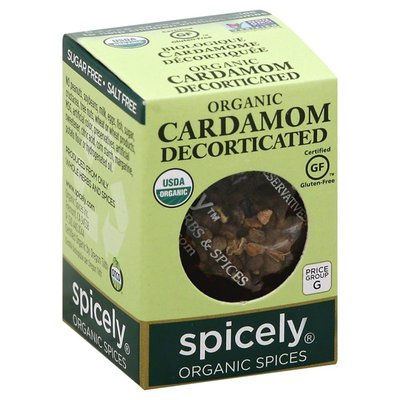Spicely Cardamom, Decorticated, Organic