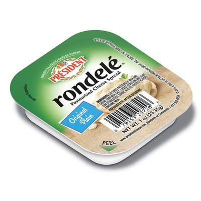 Rondele by President President Rondele Spreadable Cheese Plain