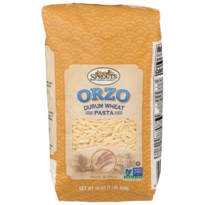 Sprouts Durum Wheat Orzo Pasta