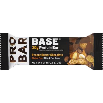 Probar Base Gluten Free Peanut Butter Chocolate Protein Bar