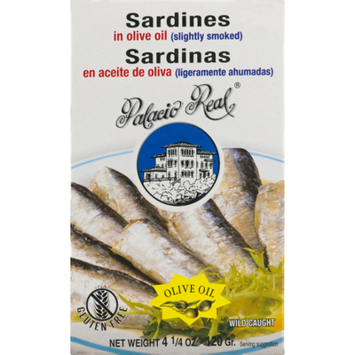 Palacio Real Sardines In Olive Oil