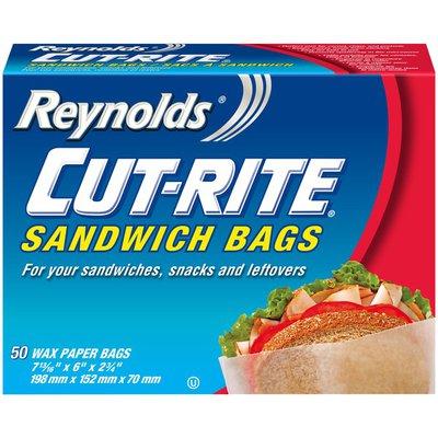 Reynolds Cut-rite Sandwich Bags Wax Paper Sandwich Bags