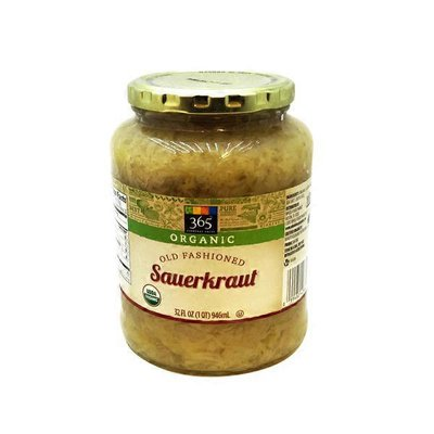 365 by Whole Foods Market Old Fashioned Organic Sauerkraut