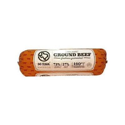 Go Texan Ground Beef  Fresh 73% Lean Ground Beef Chub