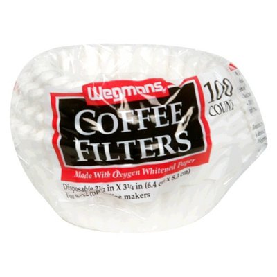 Wegmans Coffee Filters for 8-12 Cup Coffee Makers
