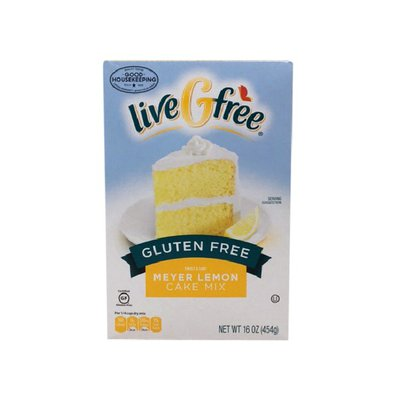 liveGfree Gluten Free Sweet & Tart Meyer Lemon Cake Mix
