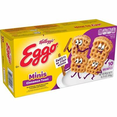 Eggo Minis Frozen Waffles, Cinnamon Toast, Easy Breakfast