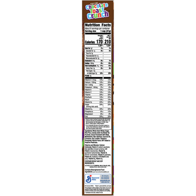 Chocolate Toast Crunch Whole Grain Breakfast Cereal