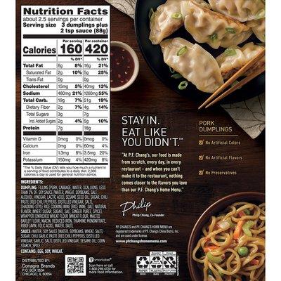 P.F. Chang's Signature Pork Dumplings