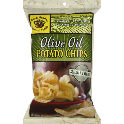 Good Health Kettle Chips Olive Oil Sea Salt & Vinegar