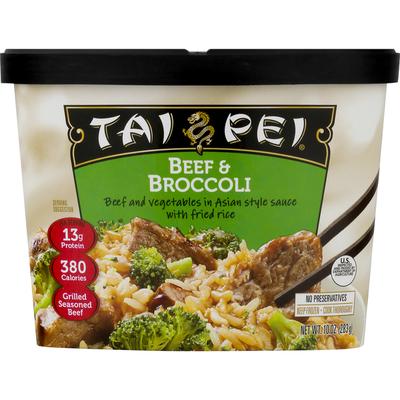 Tai Pei Beef & Broccoli Frozen Asian Entrée