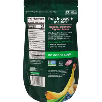 Beech-Nut Banana, Blueberry & Green Beans Melties