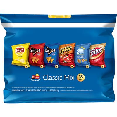 Frito Lay's Classic Mix, Variety Packs