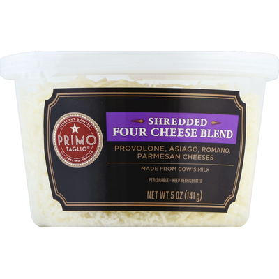 Signature Kitchens Cheese, Four Cheese Blend, Shredded
