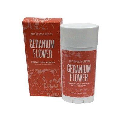 Schmidt's Natural Deodorant Geranium Sensitive Skin Formula Natural Deodorant