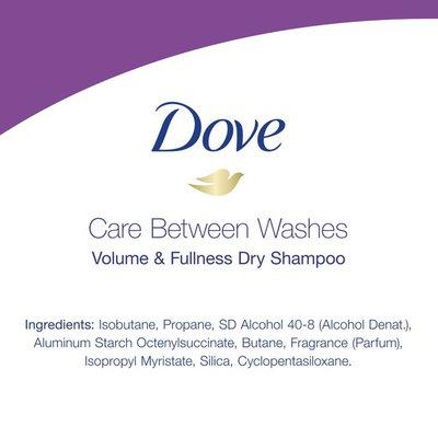 Dove Dry Shampoo Volume And Fullness