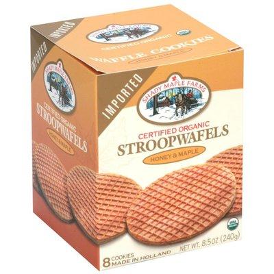 Shady Maple Farms Stroopwafels, Honey & Maple