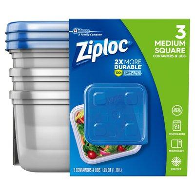 Ziploc Container Medium Square