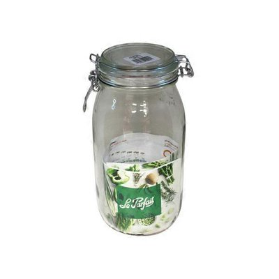 Le Parfait 64 Ounce Super Clamp Jars
