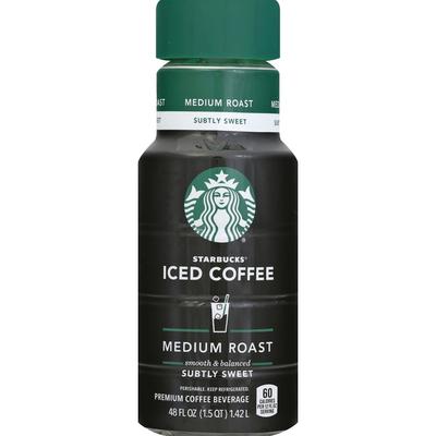 Starbucks Iced Coffee, Lightly Sweetened