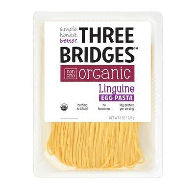 Three Bridges Linguine Egg Pasta