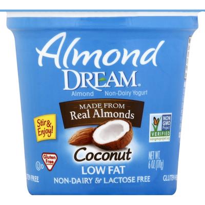 Almond Dream Yogurt, Almond Non-Dairy, Low Fat, Coconut