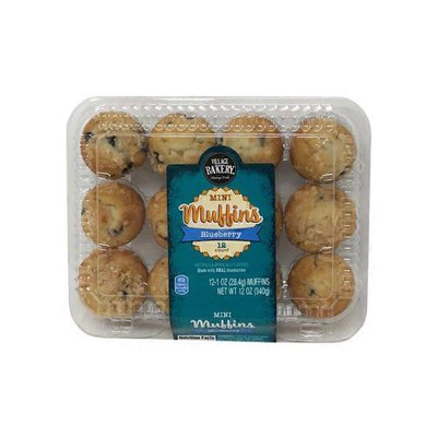 Bake Shop Blueberry Mini Muffins