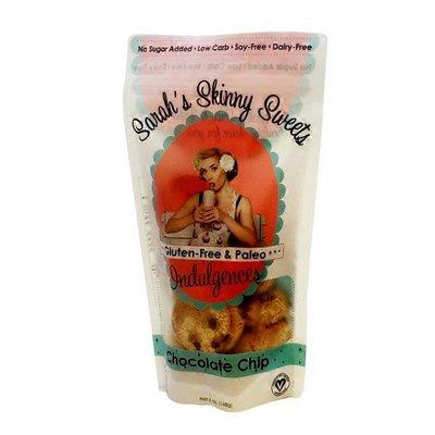 Sarah's Skinny Sweets Gluten Free & Paleo Chocolate Chip Cookie