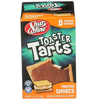 Shurfine S'mores Flavored Frosted Toaster Pastries