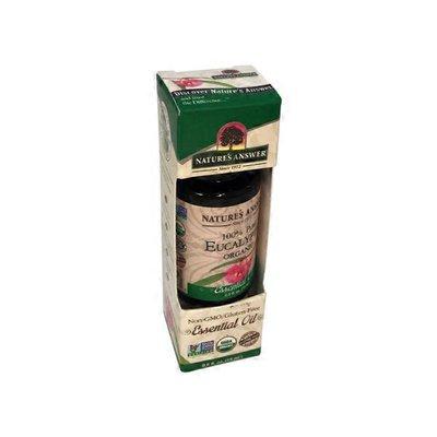 Nature's Answer Essential Oil, Organic, 100% Pure Eucalyptus