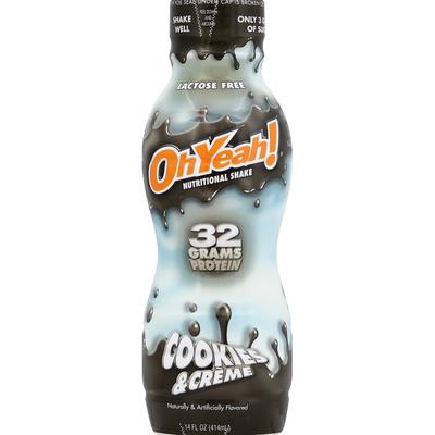 OhYeah! Nutritional Shake, Cookies & Creme