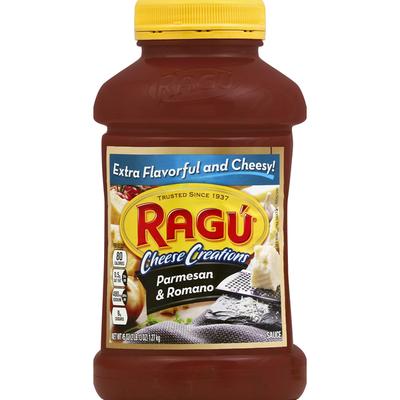 Ragu Sauce, Parmesan & Romano