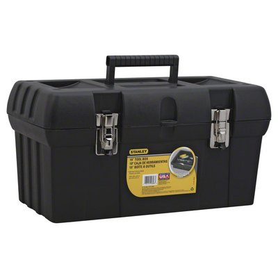 """Stanley Tool Box, 19"""", Not Packed"""