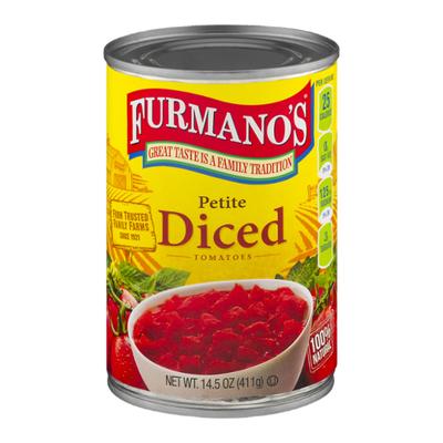 Furmano's Tomatoes, Diced, Petite