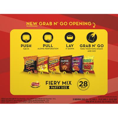 Frito Lay's Spicy Party Mix Snacks