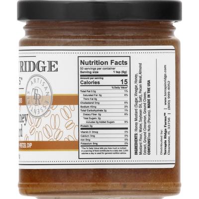 Terrapin Ridge Farms Mustard, Pecan Honey